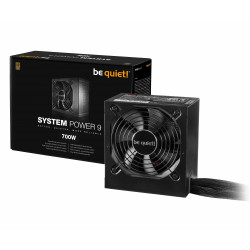 Alimentation ATX 700W Be Quiet 80 PLUS BRONZE ven 12cm System Power 9 Réf   BN248