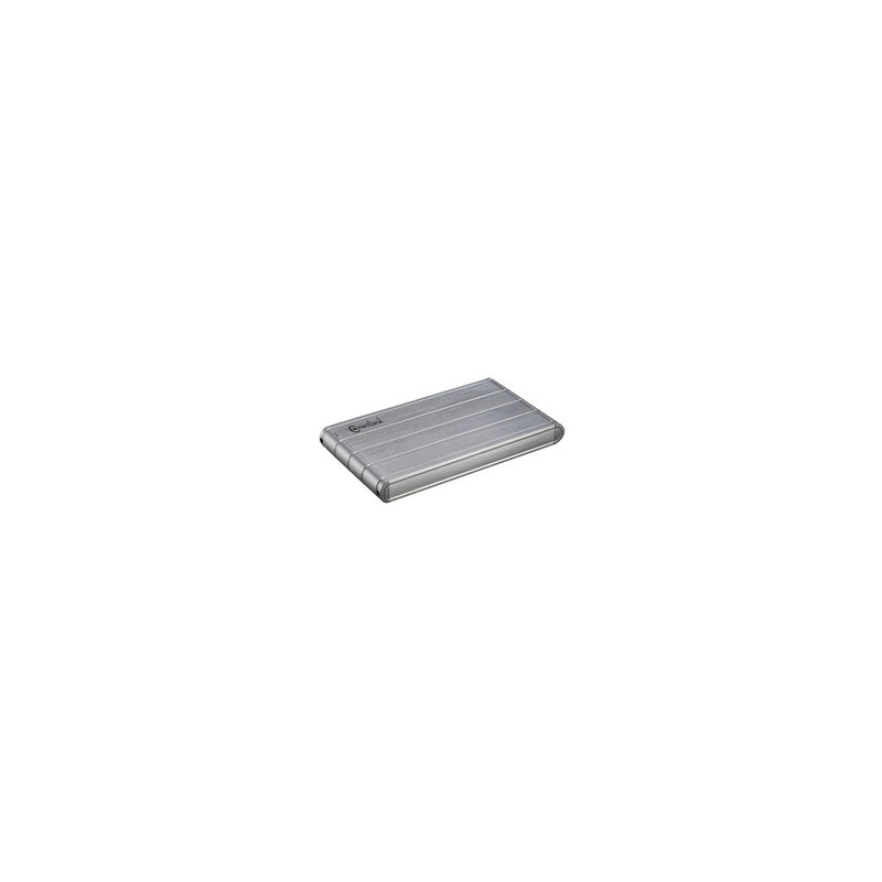 """Boitier Externe 2.5"""" USB-IDE and SATA SILVER - CONNECTLAND Réf   1908115 USB2 2603 SIL"""