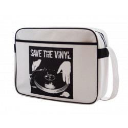 Sacoche pour portable 16 SAVE THE VINYL  URBAN FACTORY Réf   STV06UF