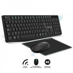 clavier-souris-sans-fil-advance-tapis-wireless-c