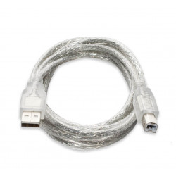 Cable USB2.0 480Mb s A vers B 1.8M Réf   0107101